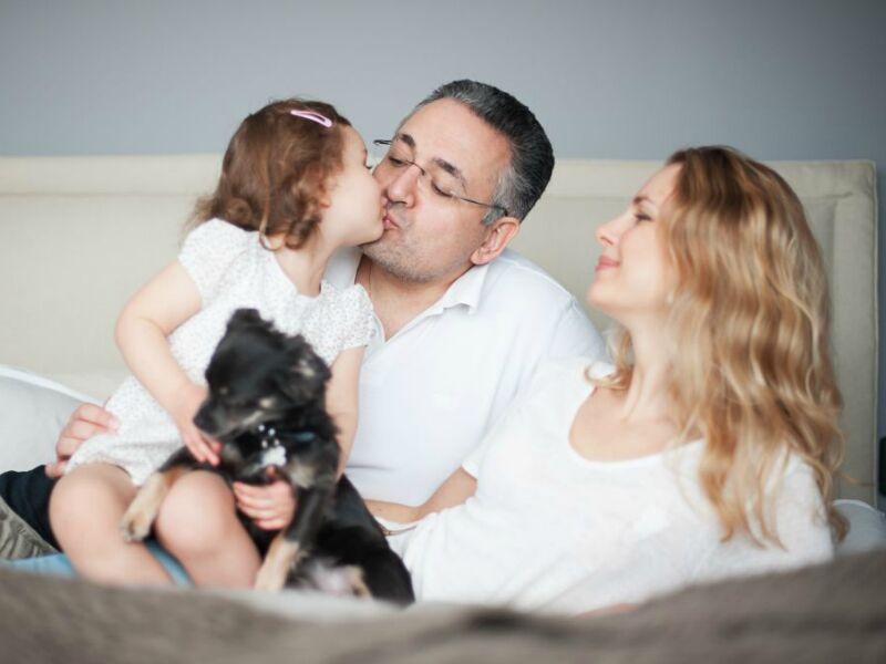 Семейная фотосессия с мужем – как подготовить и провести