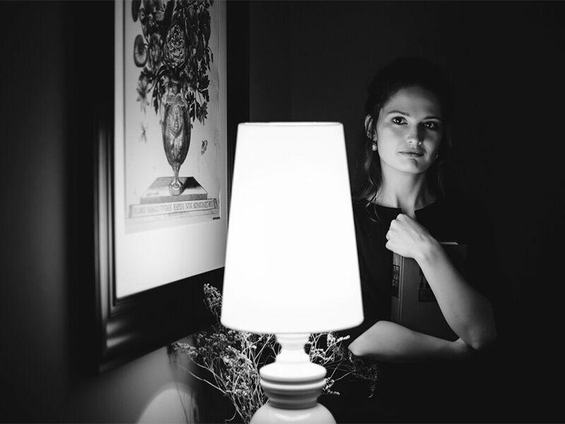 Черно-белый фотопортрет – произведение искусства