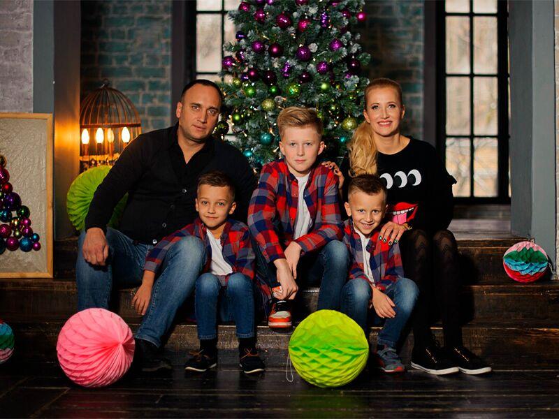 Семейная новогодняя фотосессия – что надеть для создания атмосферы